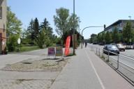 Ludwigsfelde: Stadtzentrum Potsdamer Straße heute