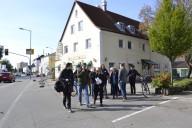 Haunstetten_Spaziergang 2: alte B17, Kreuzung Wienerwald/Dreimäderlhaus