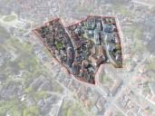 """Coburg: Abgrenzungsbereich der VU """"nördliche Innenstadt / Steinwegvorstadt"""""""