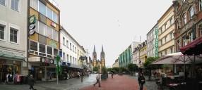 Hof/Saale: Fußgängerzone, Zustand heute