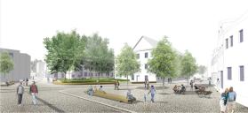 Apolda: Visualisierung Darrplatz