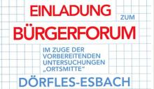 Dörfles-Esbach: Plakat