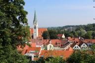 Kempten: Blick von der Burghalde