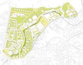 Erfurt: Lage des Areals südwestlich der Altstadt