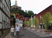Mittleres Fuldatal: Aufwertung der Innenstadt in Felsberg (Bildmontage)