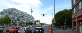 Berlin Fischerinsel: Bestandsfoto