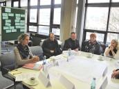 """Iserlohn: Diskussion am Thementisch """"Beteiligung und Teilhabe"""" im Rahmen der Fokusrunde """"Soziales"""""""