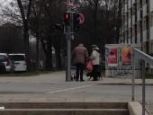 München-Neuaubing: Kreuzung Wiesentfelser Straße, Riesenburgstraße