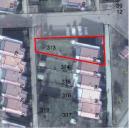 Gießen_Blumenviertel_Lageplan über das Luftbild mit typischer Parzellierung