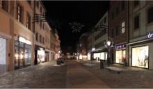 Marktstraße Nachtbild