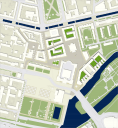 Potsdam: Lageplan Potsdamer Mitte
