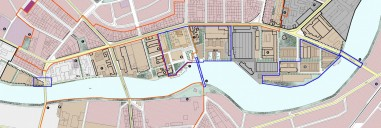 Berlin-Oberschöneweide: Rahmenplanung Industrie- und Gewerbegebiet Oberschönweide, ab 1998