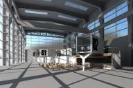 Berlin-Oberschöneweide: Containerinstallation in Halle 70