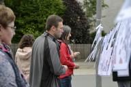 Schönwald: Bürgerwerkstatt Spaziergang an der Wäscheleine
