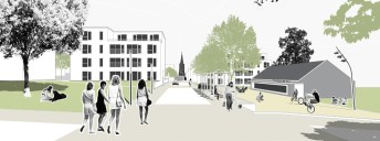 Ulm: Blick in die Bewegungsachse