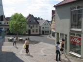 Hollfeld: Umsetzung Unterer Markt in einen terrassierten Platz mit Aufenthaltsqualität